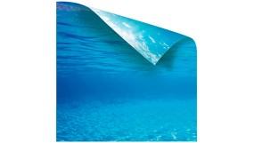 Как наклеить фон на аквариум?