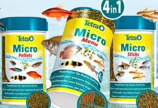 Новинка на сайте – корм Tetra Micro для маленьких рыбок