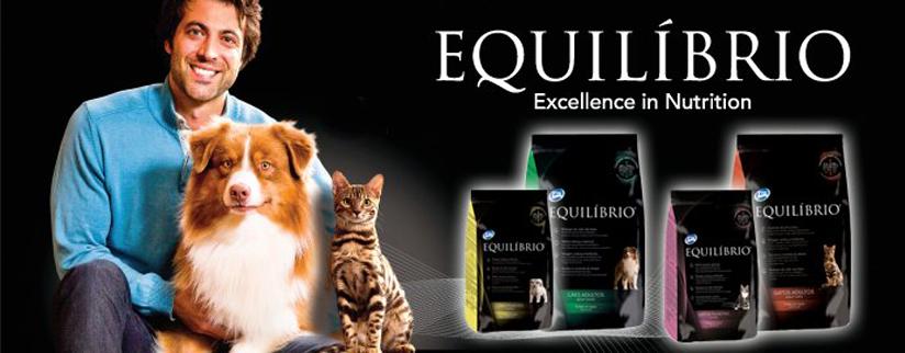Новый корм для кошек и собак – Equilibrio