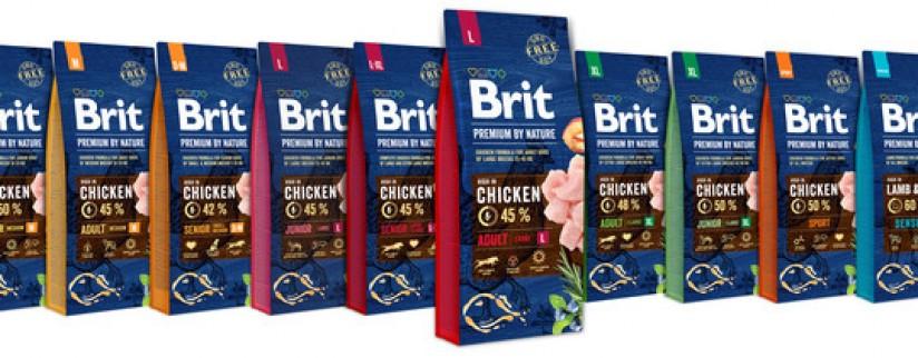 Обновление кормов для собак Brit Premium