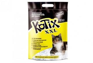 Обзор силикагелевого наполнителя для туалета кошки Kotix