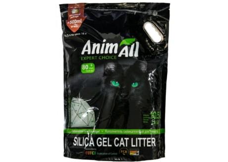 Наполнитель для туалета кошки AnimАll Зеленый изумруд