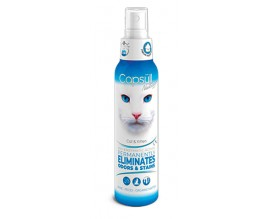 Биоэнзимное средство для удаления пятен и запаха кошек Capsull Neutralizor