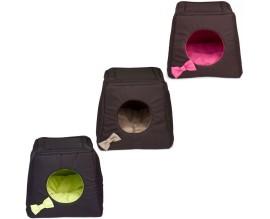 Дом-лежак для кошек и собак Comfy Triplre House