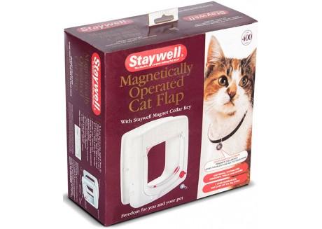 Дверцы для кошек с программным ключом PetSafe Staywell Эдванс белые (400)