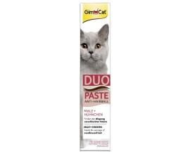 Паста для выведения шерсти у кошек GimCat Anti-Hairball Duo Paste Chicken Malt (G-417233)
