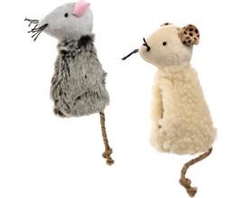 Игрушка для кошек Comfy мышка с карманом для кошачьей мяты