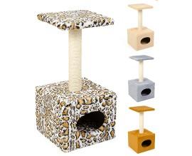 Когтеточка для кошек Природа Д1 с будкой