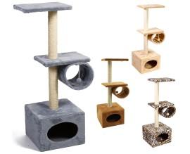 Когтеточка для кошек Природа Д22 с барабаном двухэтажная