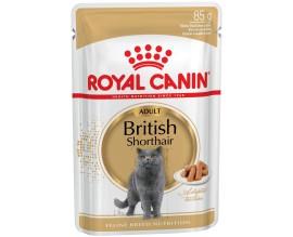 Консервы для кошек Royal Canin BRITISH SHORTHAIR ADULT, 85 гр