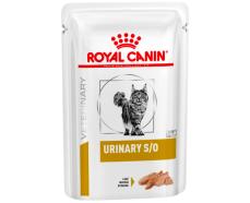 Консервы для кошек Royal Canin URINARY S/O CAT pouches 0,085 кг (паштет)