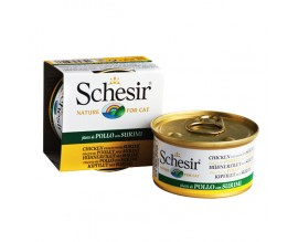 Консервы для кошек Schesir Chicken Surimi Филе курицы с Сурими 0,085 кг