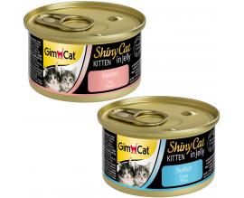Консервы для котят GimCat Shiny Kitten, 70 гр