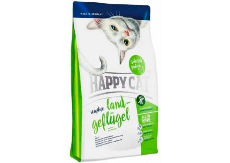 Корм для кошек Happy Cat Sensetive Land-Geflugel