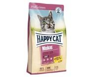 Корм для стерилизованных кошек и кастрированных котов Happy Cat Minkas Sterilised