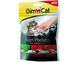 Лакомство для кошек GimCat Nutri Pockets Malt-Vitamin Mix, 150 гр