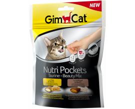 Лакомство для кошек GimCat Nutri Pockets Таурин Бьюти микс, 150 гр (G-400686)
