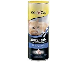 Лакомство для кошек GimCat Katzentabs рыба/биотин, 425 гр (G-409146)