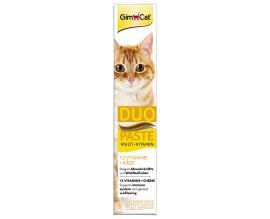 Паста мультивитаминная для кошек GimCat Multi-Vitamin Duo Paste Cheese (G-421025)