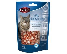 Лакомство для кошки Trixie Premio Tuna Sandwiches тунец, 50 гр (42731)