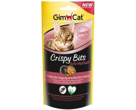 Лакомство для выведения шерсти у кошек GimCat Crispy Bits Anti-Hairball, 40 гр (G-418575)