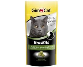 Лакомство с травой для кошек GimCat GrasBits