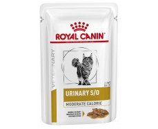 Консервы для кошек Royal Canin URINARY S/O MODERATE CALORIE CAT pouches 0,085 кг