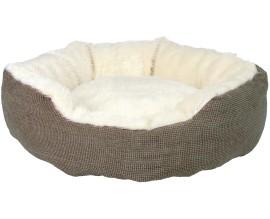 Лежак для кошек и собак Trixie Yuma с мехом