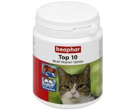 Мультивитамины для кошек Beaphar Top 10, 180 табл