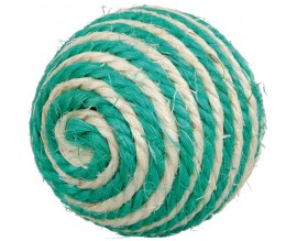 Мяч для кошек Trixie сизаль, 6,5 см (4075)