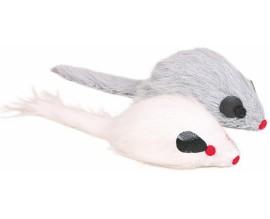 Мышка меховая для кошки Trixie с пищалкой (4116)