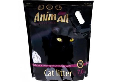 Наполнитель для туалета кошки AnimАll Фиолетовый Аметист