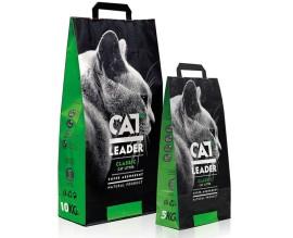 Наполнитель в кошачий туалет Cat Leader без запаха (супер)