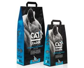 Наполнитель в кошачий туалет Cat Leader без запаха (ультра)
