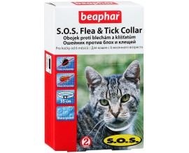Ошейник от блох и клещей для кошек Beaphar SOS Flea Tick Collar, 35 см