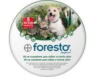 Ошейник от блох и клещей для кошек и собак Bayer Foresto 38 см