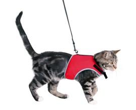 Поводок + шлея для кошек Trixie XCat (41896)