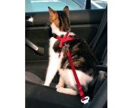 Пояс-шлея безопасности для кошек в авто Trixie (1294)