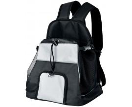 Рюкзак-переноска для собак и кошек Trixie Tamino черный/серый (28950)