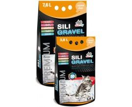 Силикагелевый наполнитель для туалета кошки Comfy Sili Gravel
