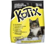 Силикагелевый наполнитель для туалета кошки Kotix