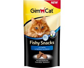 Снеки для кошек GimCat Fishy Snacks со вкусом рыбы, 35 г