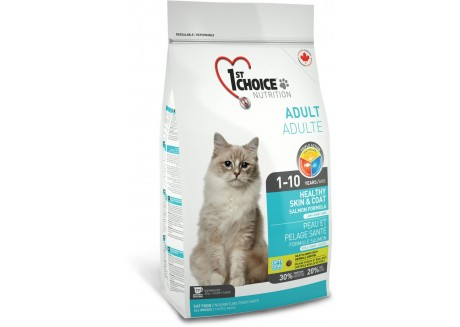 1st Choice Сухой корм для кошек Adult Healthy Skin and Coat
