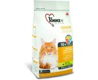 1st Choice Сухой корм для кошек Senior Mature Less Aktiv