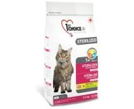 1st Choice Сухой корм для кошек Sterilized Chicken
