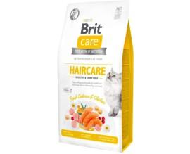Сухой корм для кошек Brit Care Cat GF Haircare Healthy and Shiny Coat, (курица и лосось)