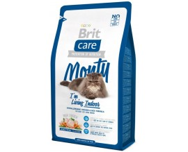 Сухой корм для кошек Brit Care Cat Monty I am Living Indoor