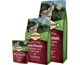 Сухой корм для кошек Carnilove Cat Duck and Pheasant - Hairball Controll