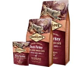 Сухой корм для кошек Carnilove Cat Duck and Turkey Large Breed
