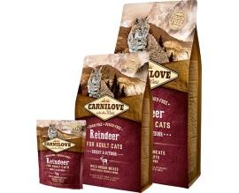 Сухой корм для кошек Carnilove Cat Raindeer Energy and Outdoor